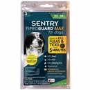 FiproGuard MAX Dog Flea & Tick Squeeze-On 23-44 lbs - 3-PACK