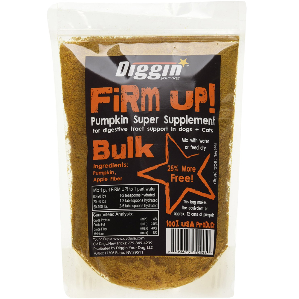 Firm Up! Pumpkin Digestive Tract Support for Dogs & Cats (16 oz) im test