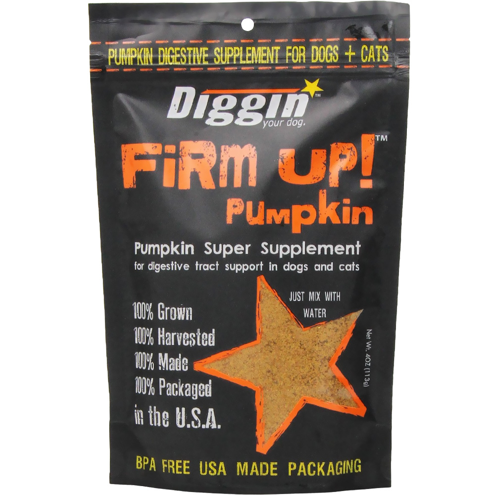 Firm Up! Pumpkin Digestive Tract Support for Dogs & Cats (4 oz) im test