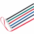 """Flat Leash with """"D"""" Ring - Assorted Colors (43"""")"""