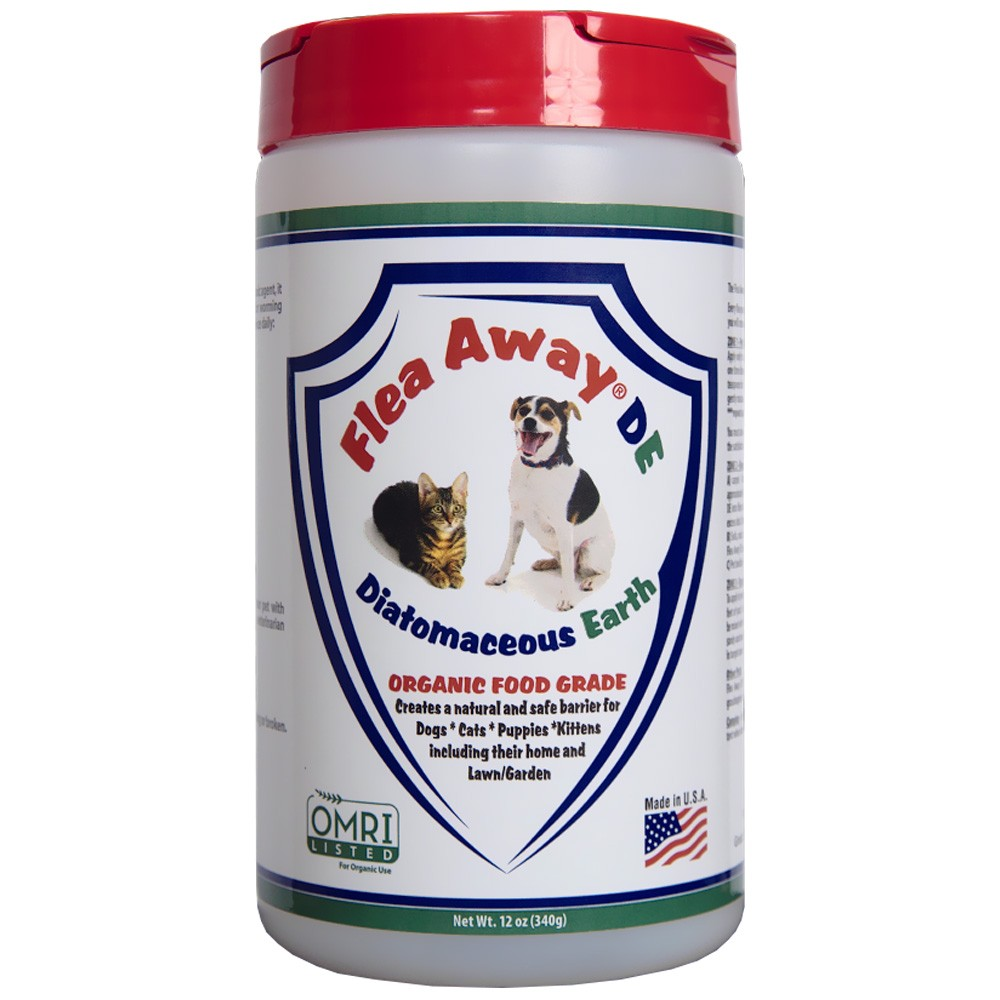 Image of Flea Away DE Diatomaceous Earth (12 oz)
