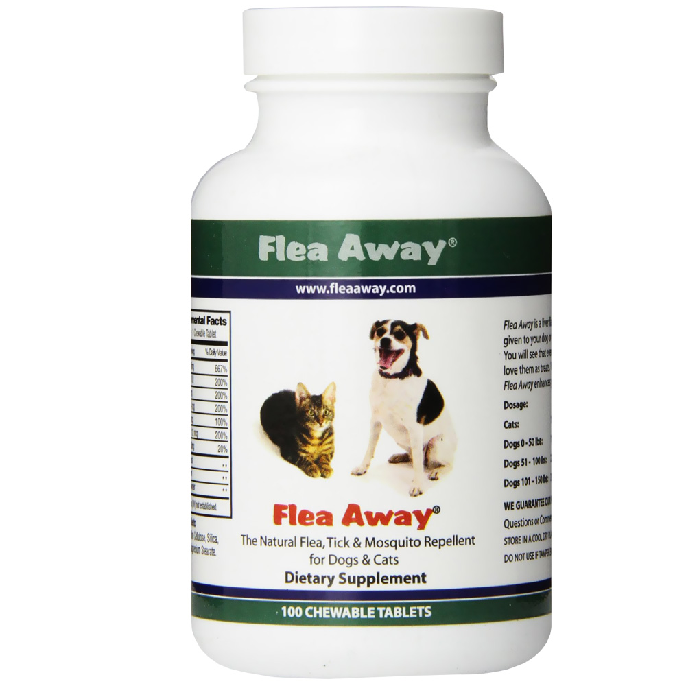 Flea Away for Cats & Dogs (100 Chewable Tablets) im test