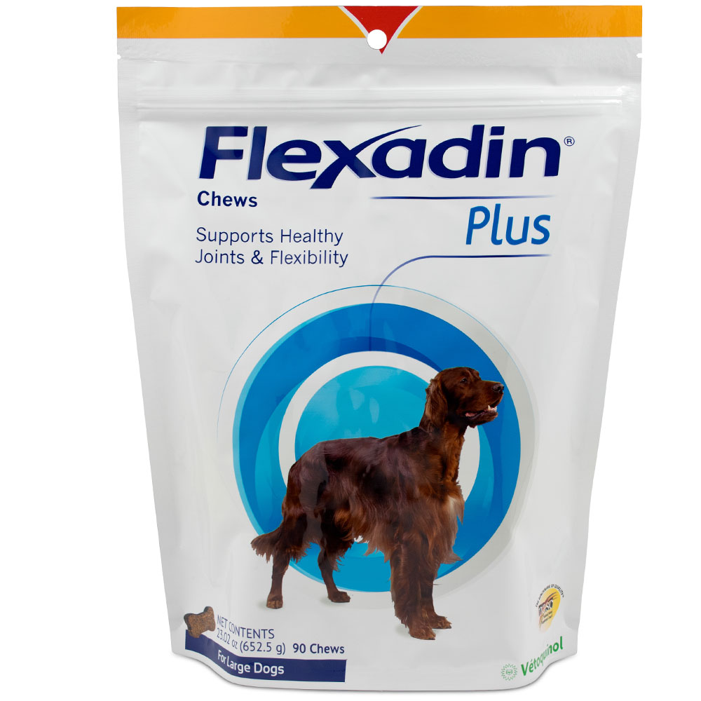 Flexadin Plus for Large Dogs (90 chews) im test