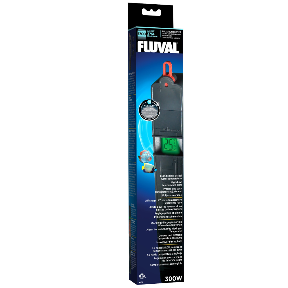 Image of Fluval Advance Electronic Aquarium Heater (300 Watt)
