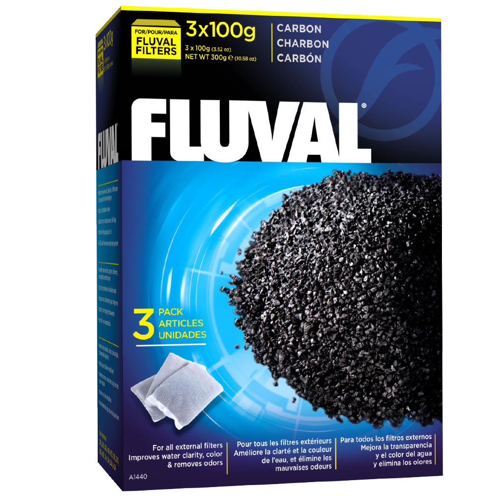 Image of Fluval Carbon 300 gram - 3 Pack - from EntirelyPets