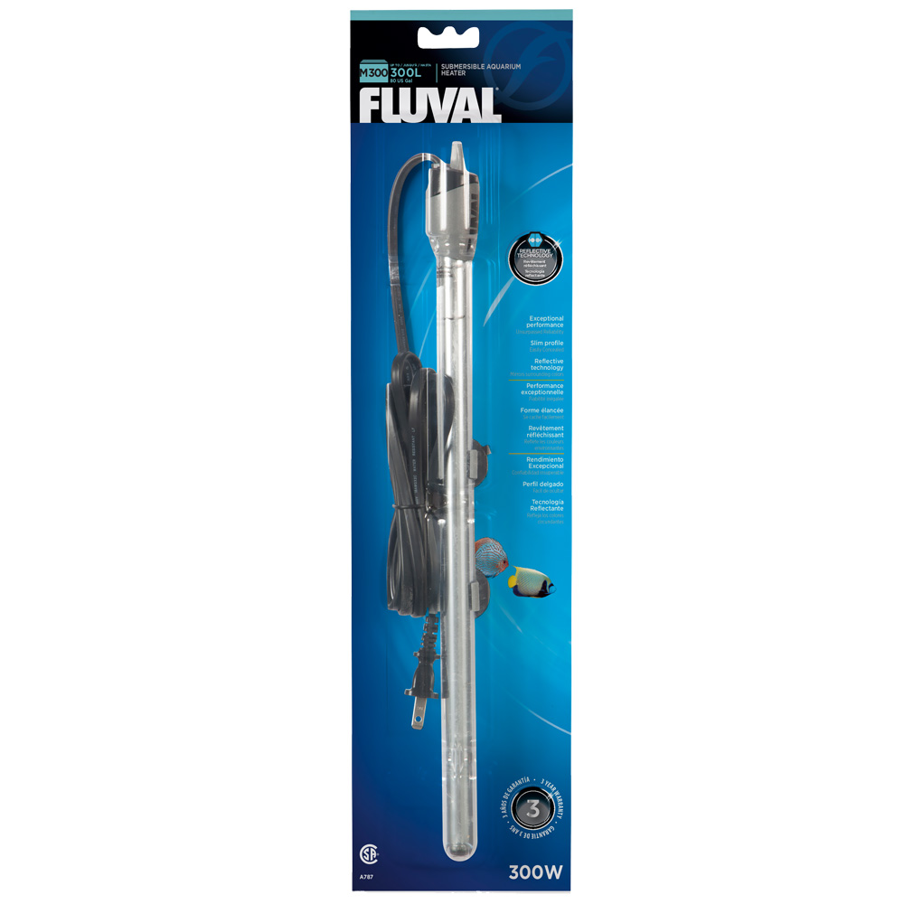 Image of Fluval M300 Submersible Glass Aquarium Heater (300 watts)