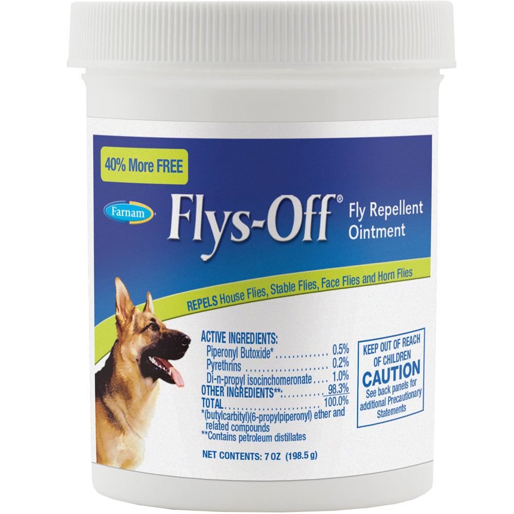Image of Flys Off Fly Repellent Ointment (7 oz)
