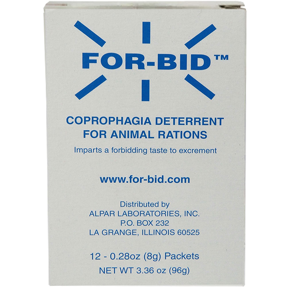 Image of FOR-BID Stool-eating Preventative (12 packets) of Forbid