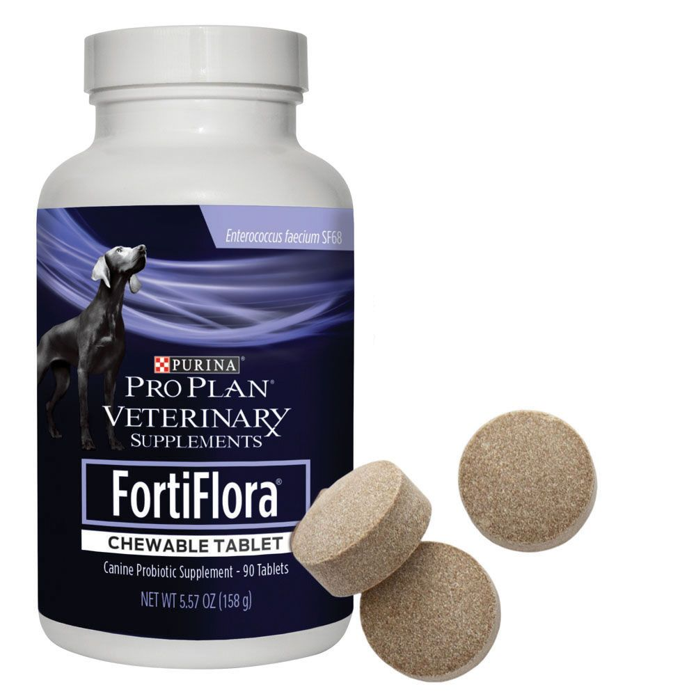 FortiFlora Canine Chewable Tablets (90 count)