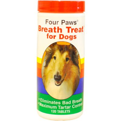 FOUR-PAWS-BREATHTREAT-DOGS-120-TABLETS