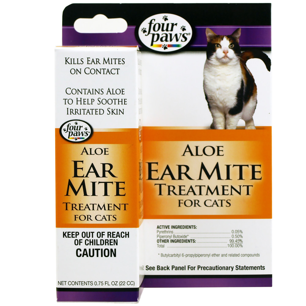 Four Paws Ear Mite Remedy for Cats (0.75 fl. oz.) im test