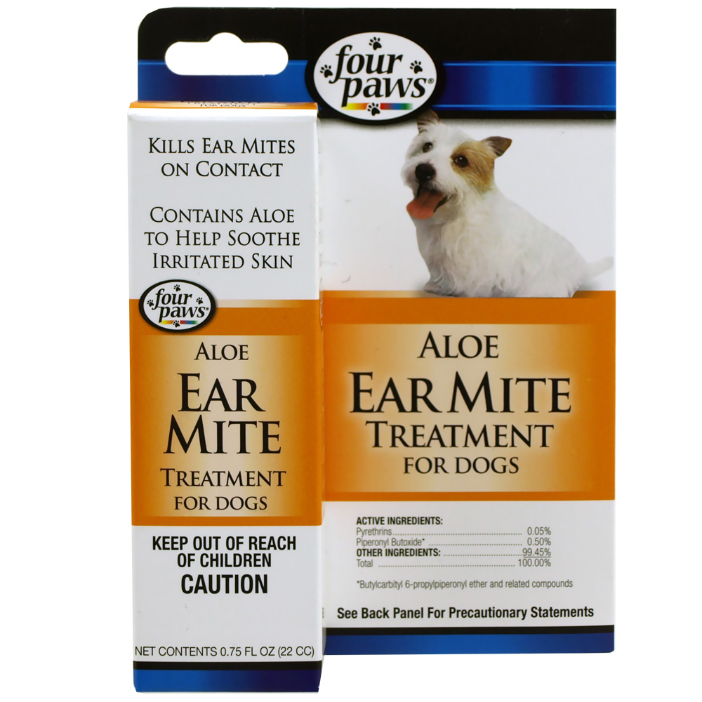 Four Paws Ear Mite Remedy for Dogs (0.75 fl oz) im test