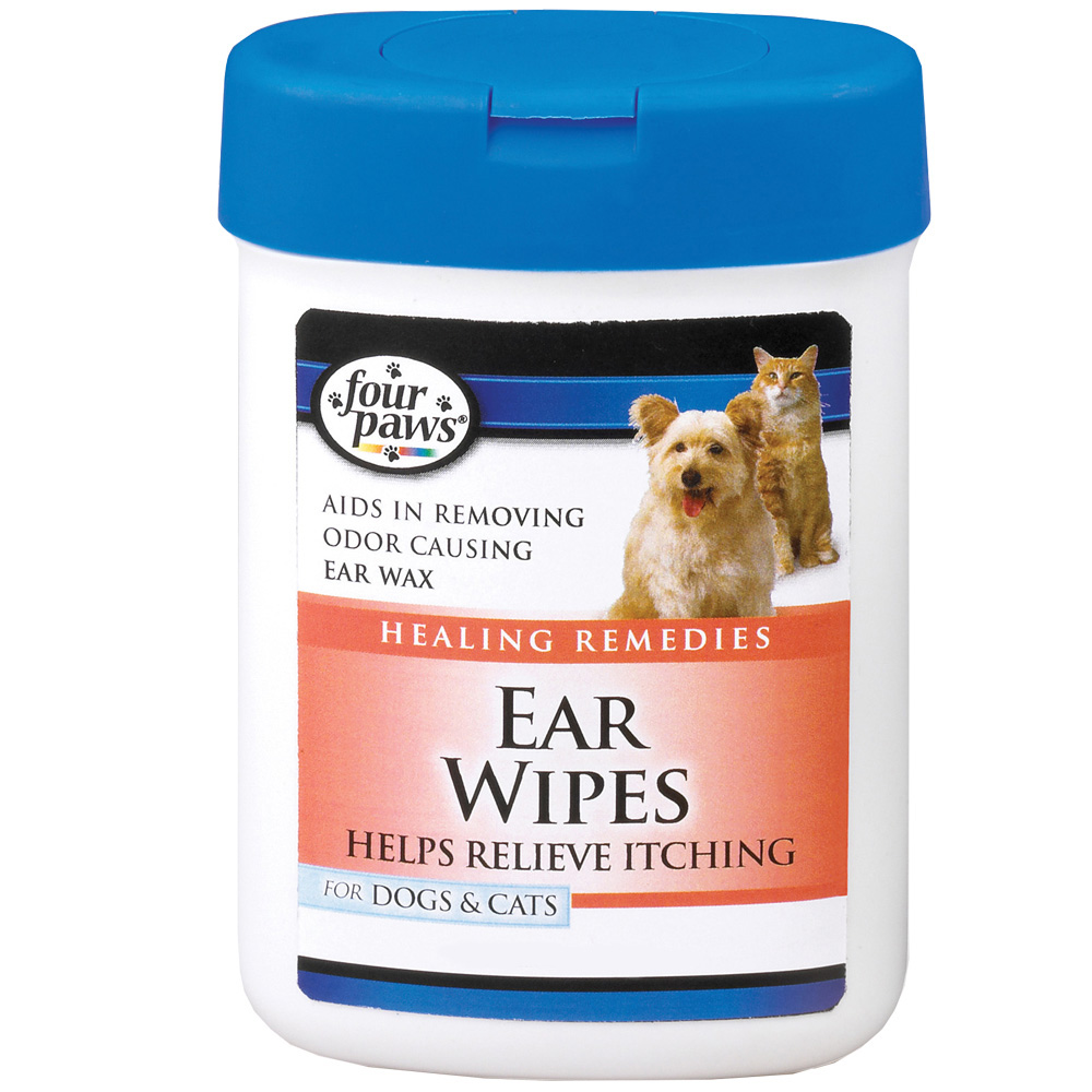 Four Paws Ear Wipes for Dogs & Cats (25 Wipes) im test