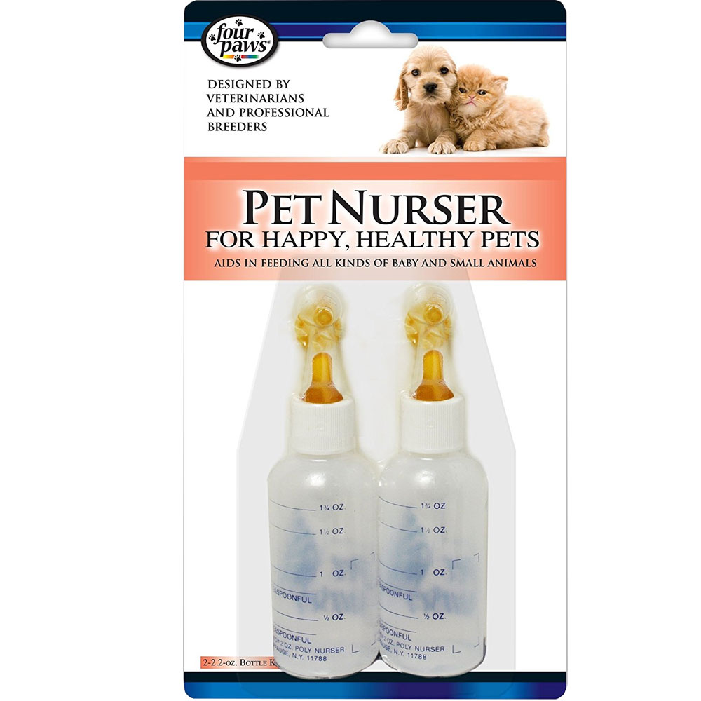 Four Paws Pet Nurser Bottles for Baby and Small Animals im test