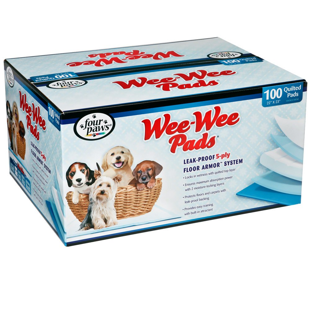 Image of Four Paws Puppy Wee-Wee Pads (100 Pack)