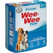 Four Paws Wee-Wee Housebreaking Pads - 21 Count (X-Large)