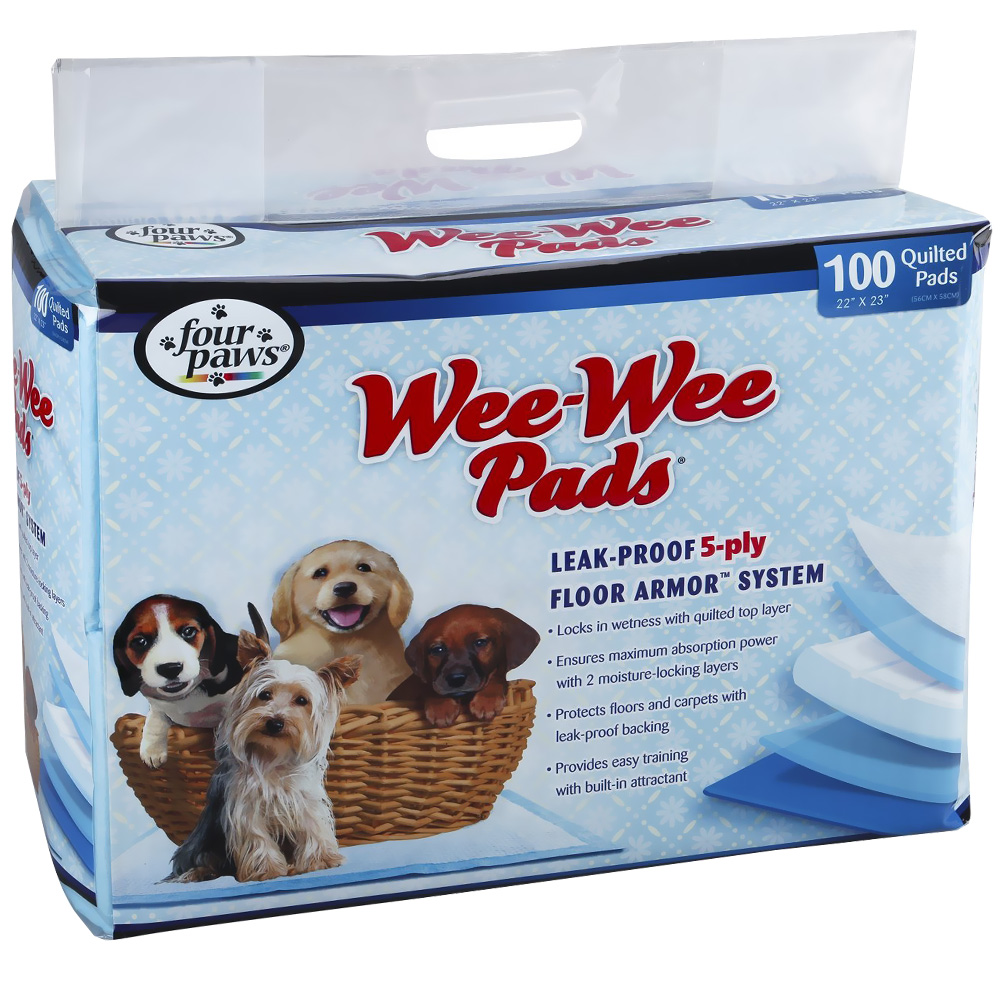 Image of Four Paws Wee-Wee Pads (100 pads)