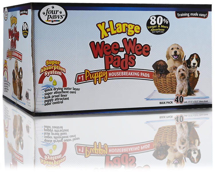 Image of Four Paws Wee Wee Pads Extra Large (40 pack)