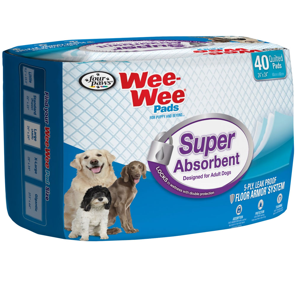 Four Paws Wee-Wee Pads for Adult Dogs (40 count) im test