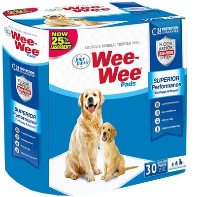 Four Paws Wee-Wee Pads for Little Dogs (30 count)