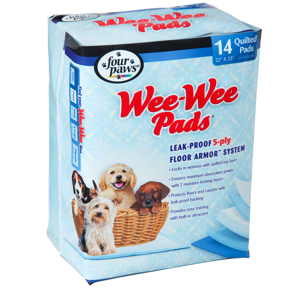 Four Paws Wee-Wee Pads X-Large (14 pads) im test