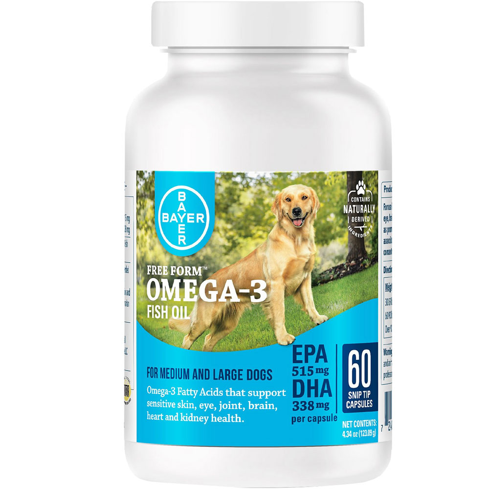 Free Form Snip Tips Omega-3 for Medium/Large Dogs (60 capsules) im test