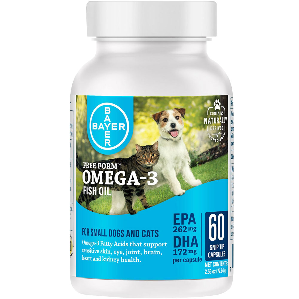 Free Form Snip Tips Omega-3 for Small Dogs and Cats (60 capsules) im test