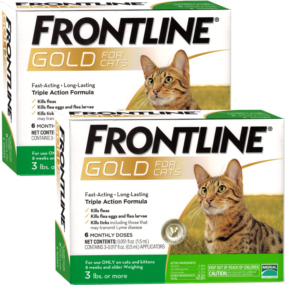 Frontline Gold for Cats, 12 Month im test