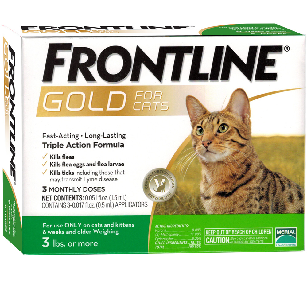 Frontline Gold for Cats, 3 Month im test