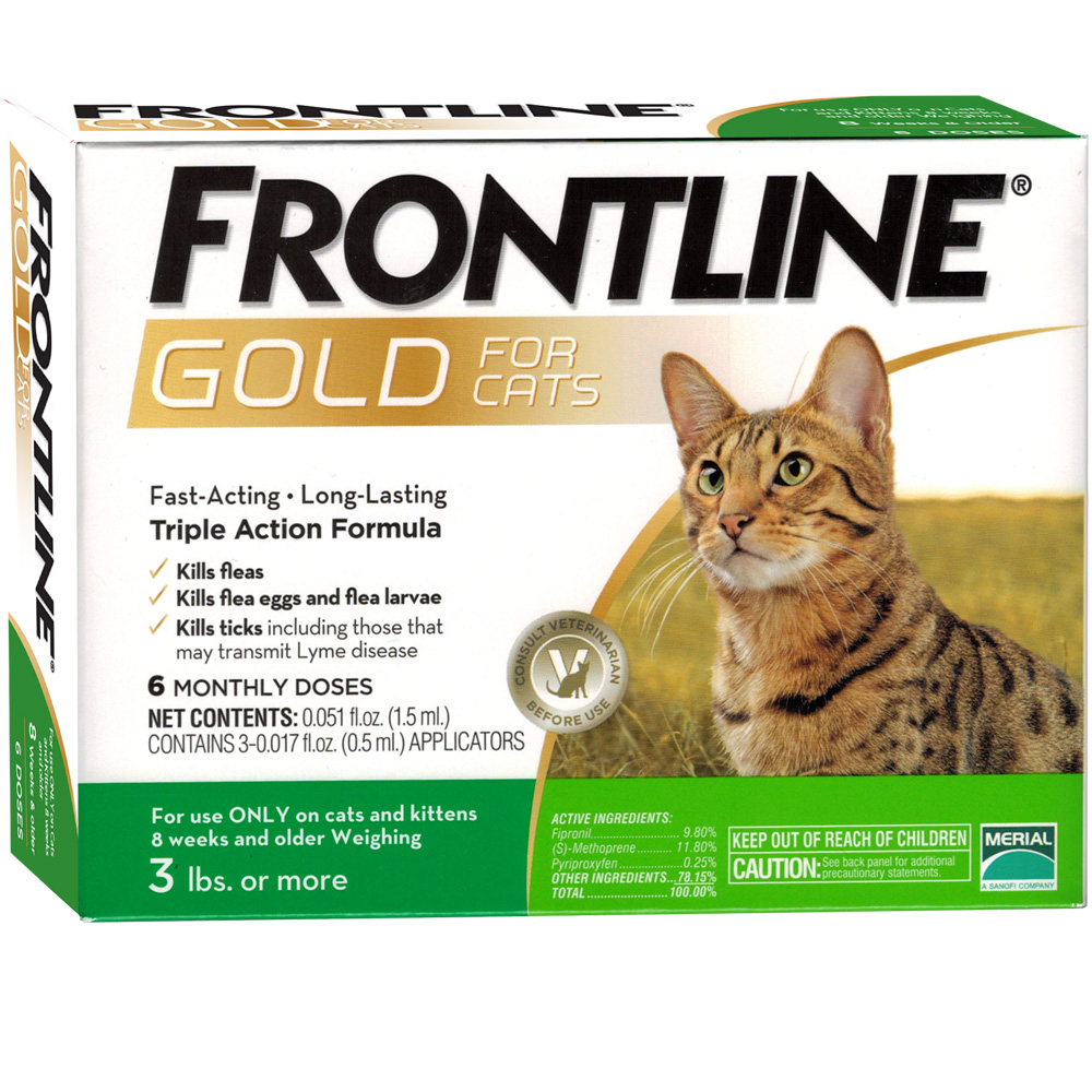 Frontline Gold for Cats, 6 Month im test