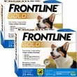 Frontline Gold for Dogs 23-44 lbs, 12 Month