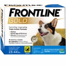 Frontline Gold for Dogs 23-44 lbs, 3 Month