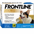 Frontline Gold for Dogs 23-44 lbs, 6 Month