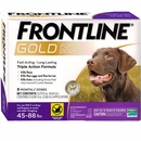Frontline Gold for Dogs 45-88 lbs, 3 Month