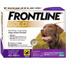 Frontline Gold for Dogs 45-88 lbs, 6 Month