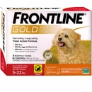 Frontline Gold for Dogs 5-22 lbs, 3 Month