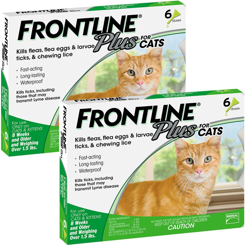 Frontline Plus for Cats, 12 Month im test