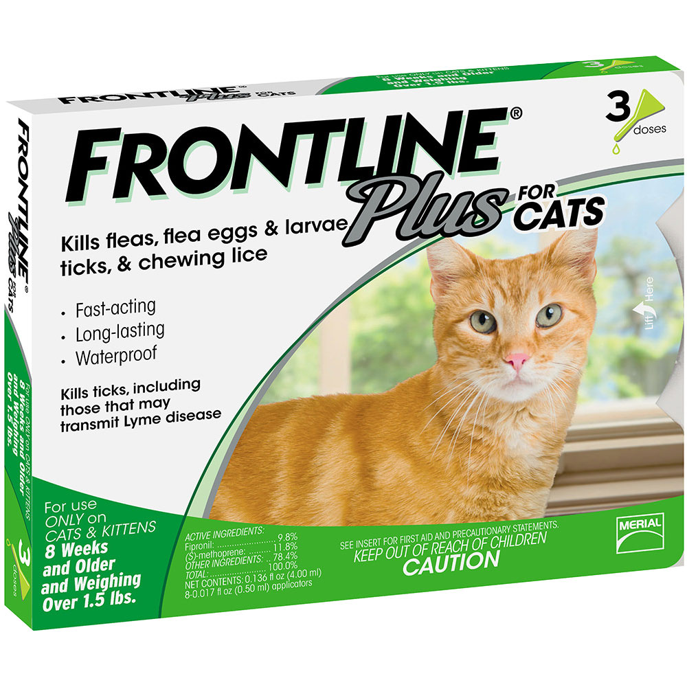 Frontline Plus for Cats, 3 Month im test