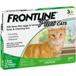 Frontline Plus for Cats, 3 Month