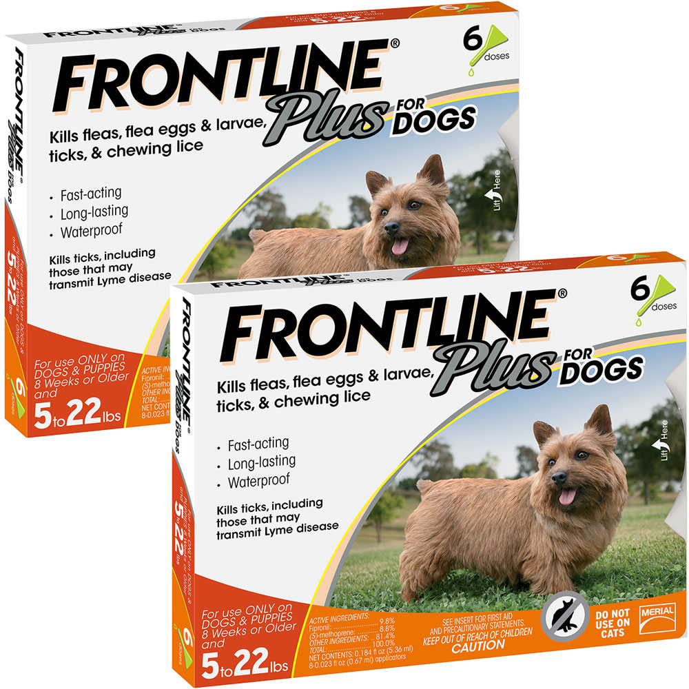 Frontline Plus for Dogs 0-22 lbs, 12 Month im test