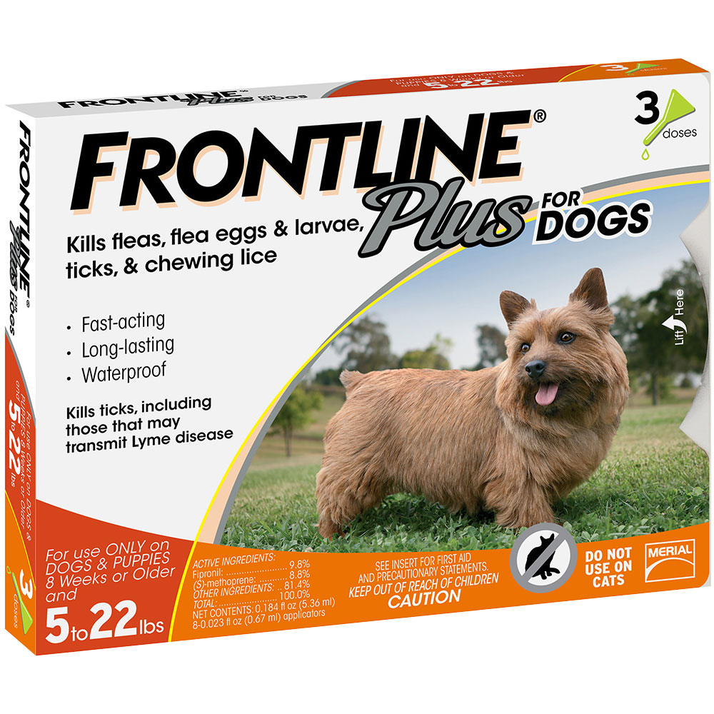 Frontline Plus for Dogs 0-22 lbs, 3 Month im test