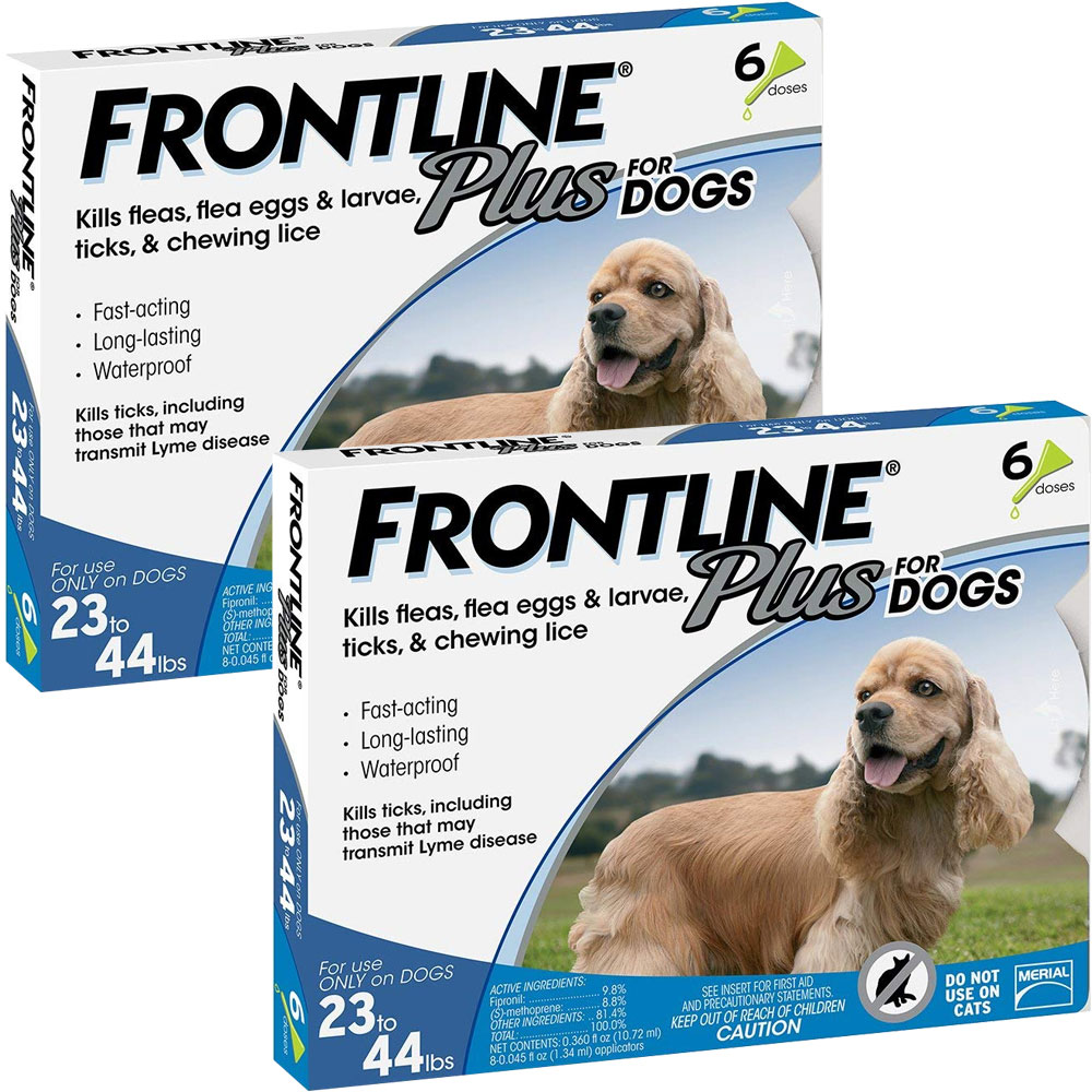 Frontline Plus for Dogs 23-44 lbs, 12 Month im test