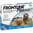 Frontline Plus for Dogs 23-44 lbs, 3 Month