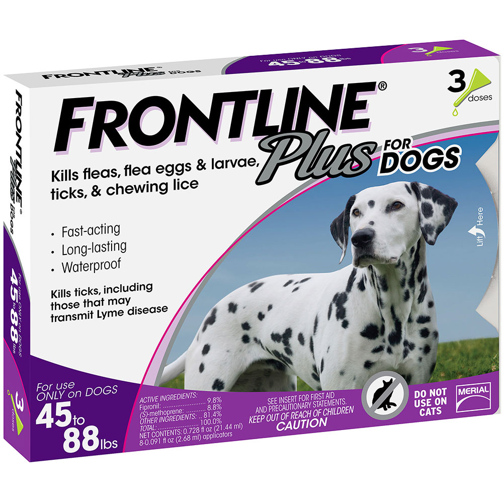 Frontline Plus for Dogs 45-88 lbs, 3 Month im test
