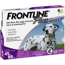 Frontline Plus for Dogs 45-88 lbs - PURPLE, 6 MONTH