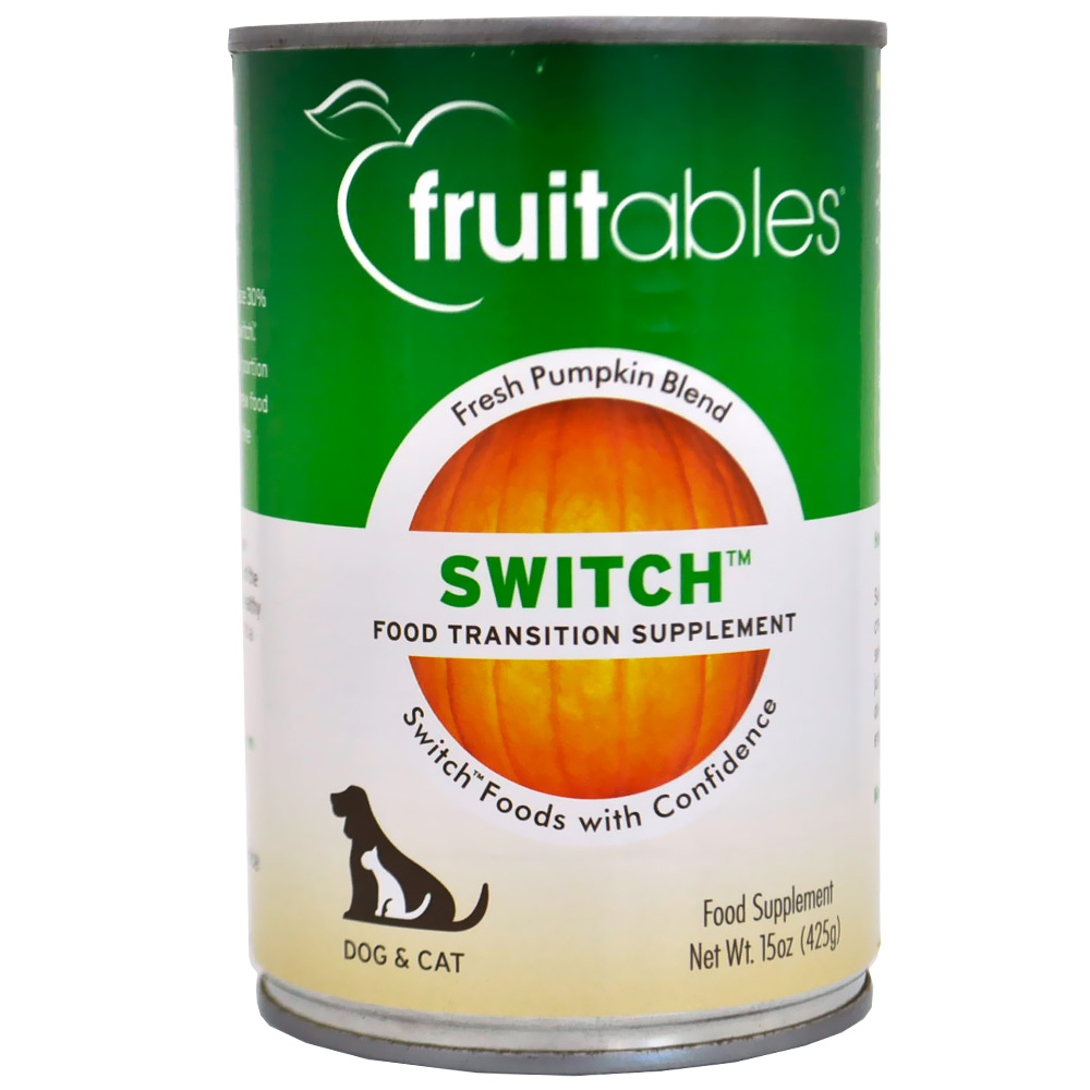 Fruitables Switch Food Transition Supplement Dogs & Cats Can Food (15 oz) im test