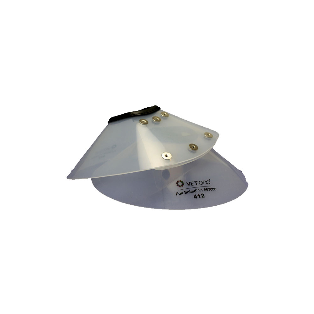 """VetOne Full Shield Elizabethan E-Collar 415, 6.25"""" - 8.5"""" (38cm Diameter)"" im test"