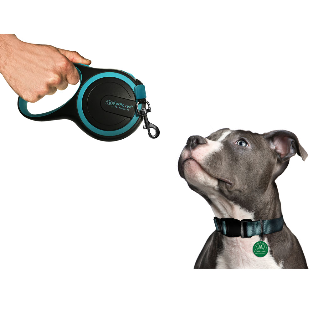 FURHAVEN-RETRACTABLE-LEASH-LAGOON-BLUE-9
