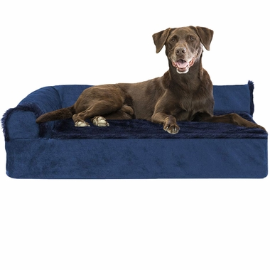 FURHAVEN-COOLING-GEL-CHAISE-LOUNGE-BED-SAPPHIRE-SMALL