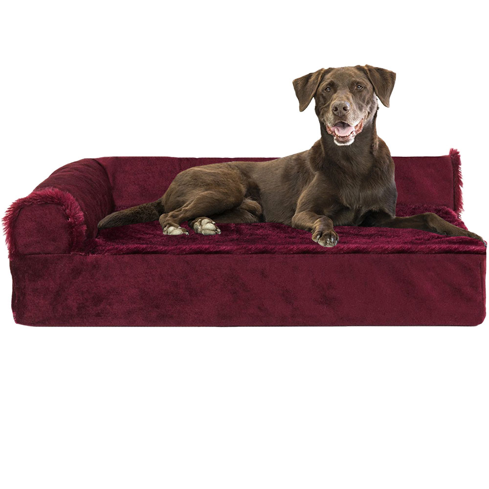 FURHAVEN-COOLING-GEL-CHAISE-LOUNGE-BED-RED-JUMBO